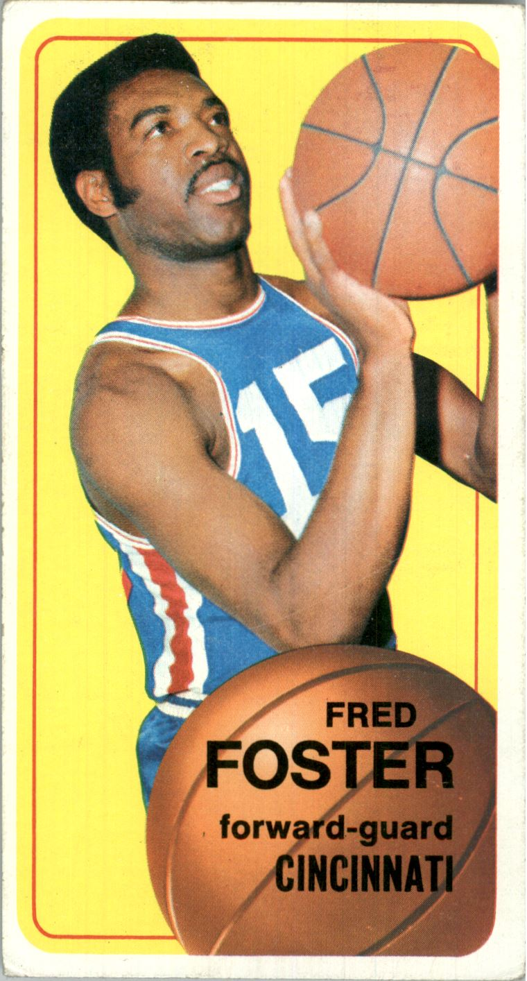 1970-71 Topps #53 Fred Foster