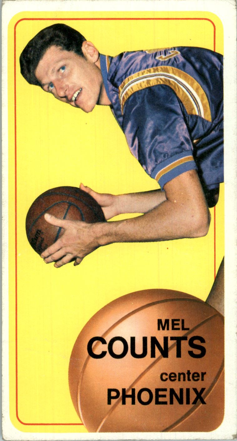1970-71 Topps #103 Mel Counts