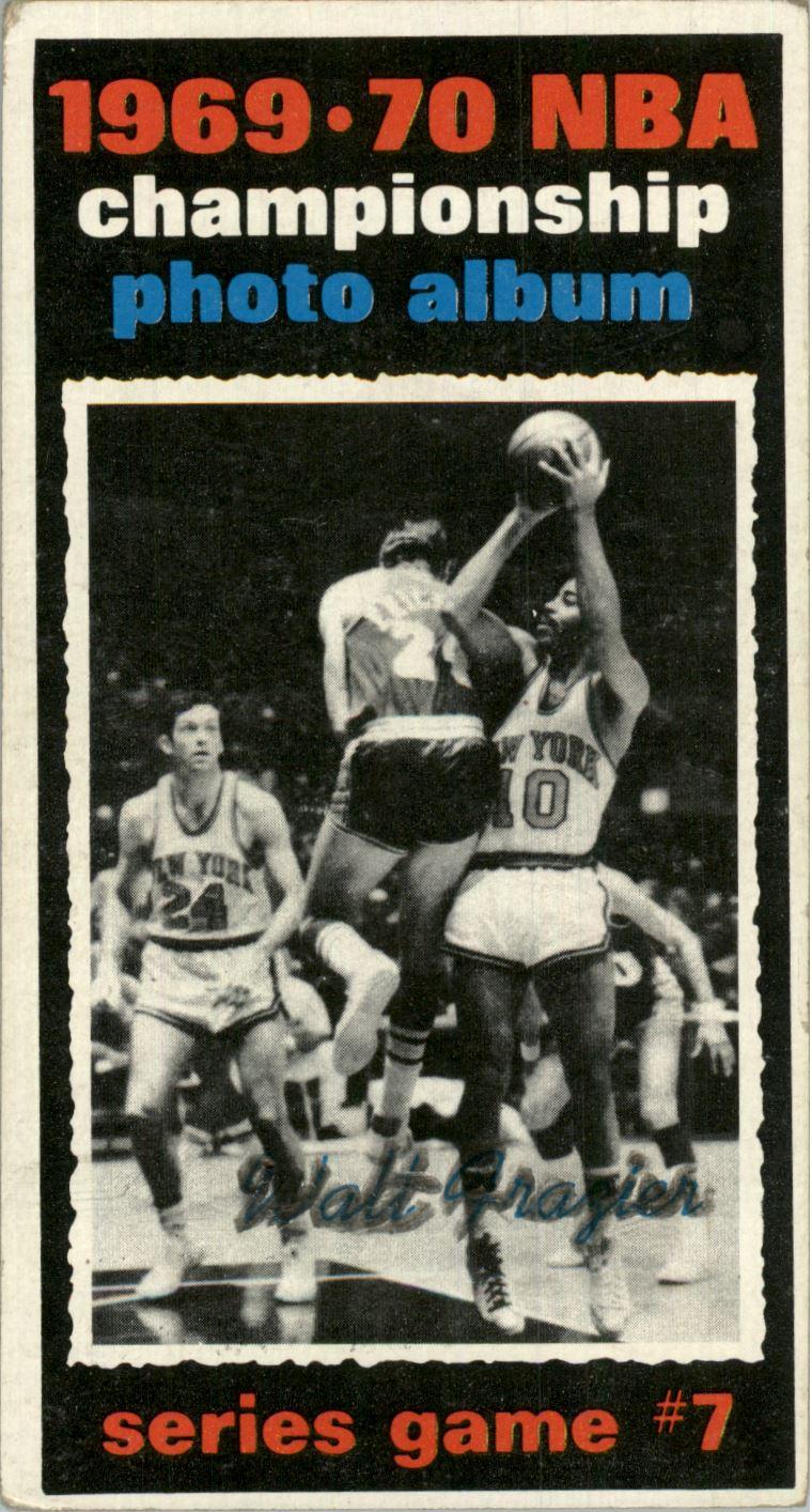 1970-71 Topps #174 Playoff G7/Walt Frazier