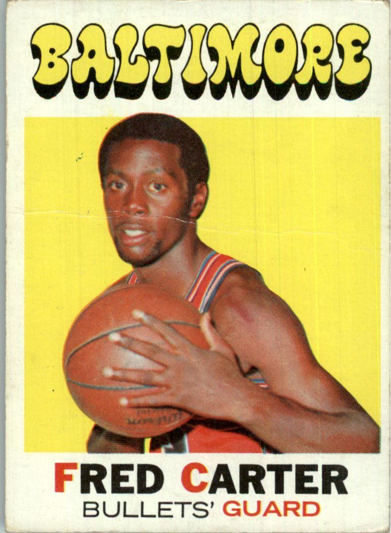 1971-72 Topps #14 Fred Carter