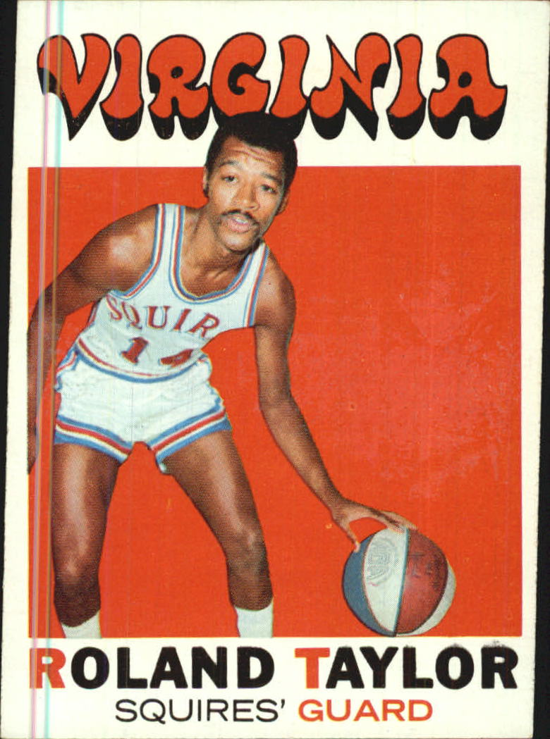 1971-72 Topps #173 Roland Taylor RC