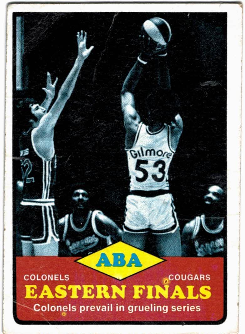 1973-74 Topps #207 Eastern Finals/Artis Gilmore