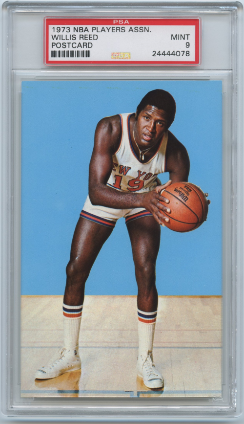 1973-74 NBA Players Association #24 Willis Reed SP