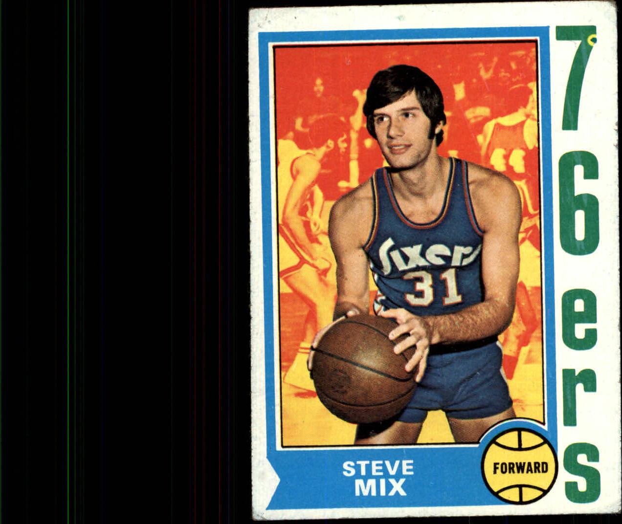 1974-75 Topps #56 Steve Mix RC