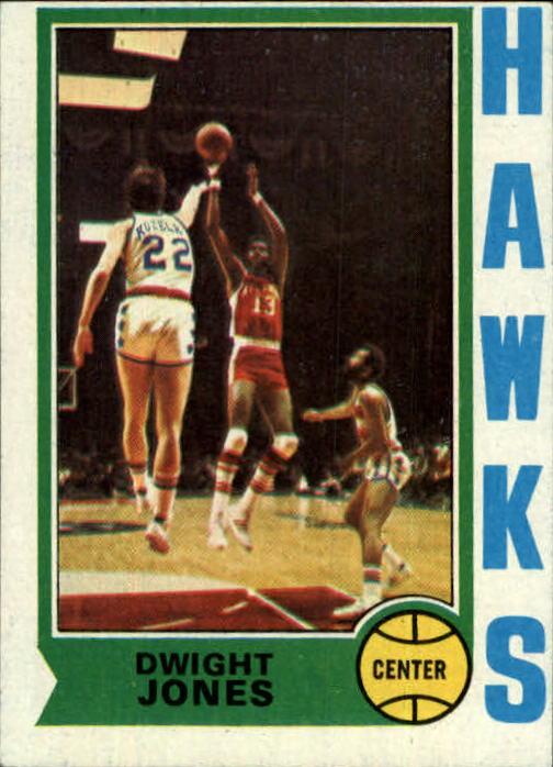 1974-75 Topps #59 Dwight Jones RC