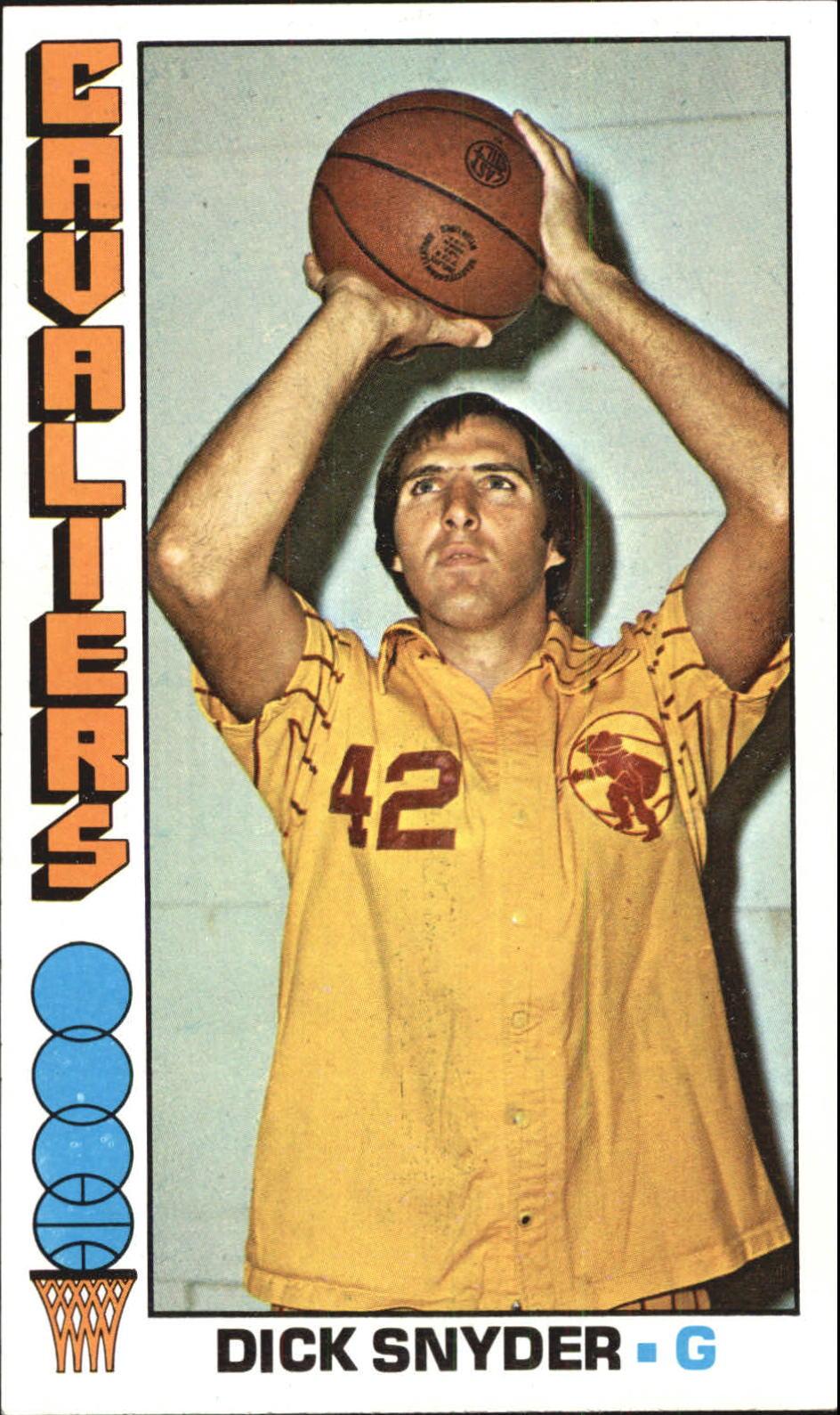 1976-77 Topps #2 Dick Snyder