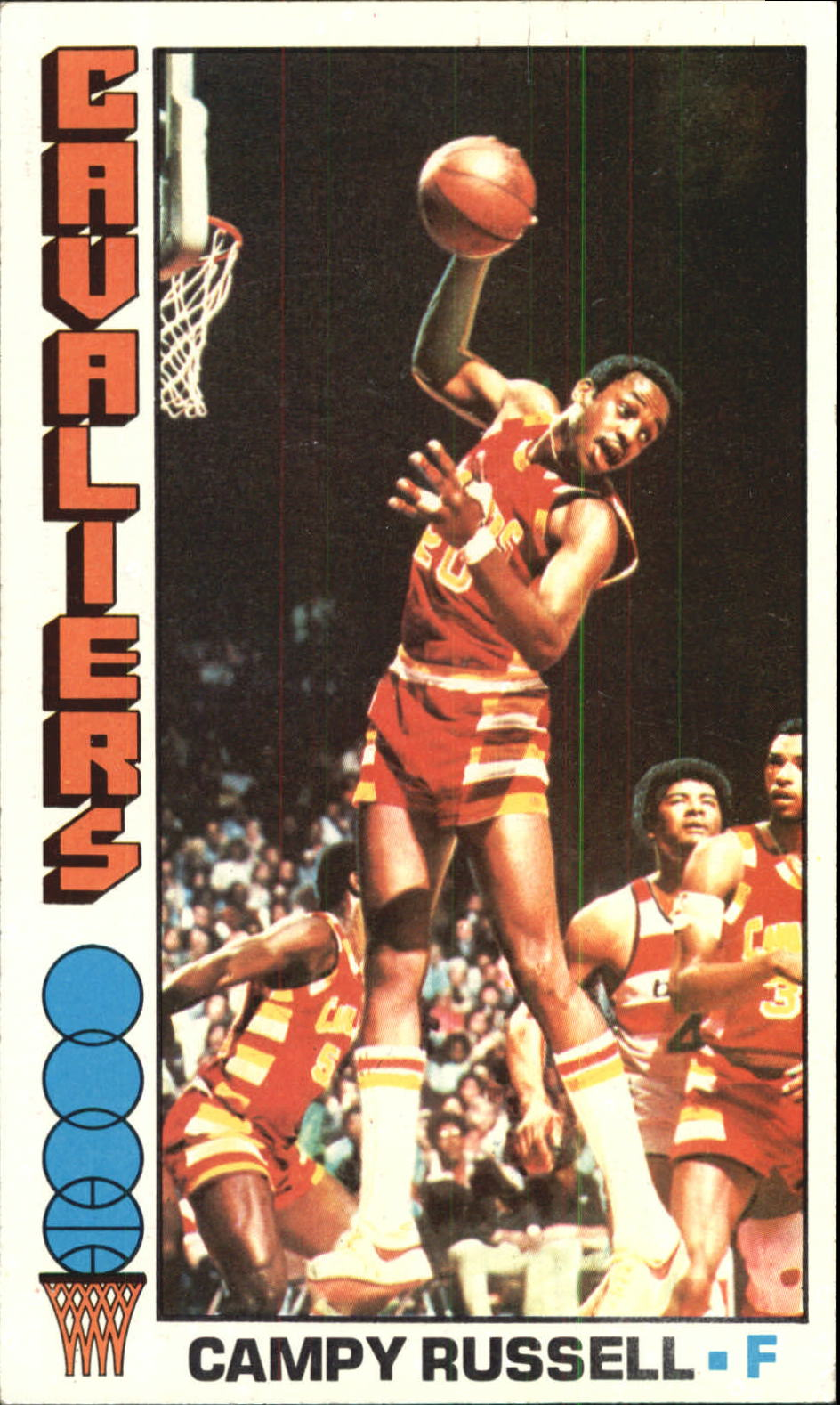 1976-77 Topps #23 Campy Russell