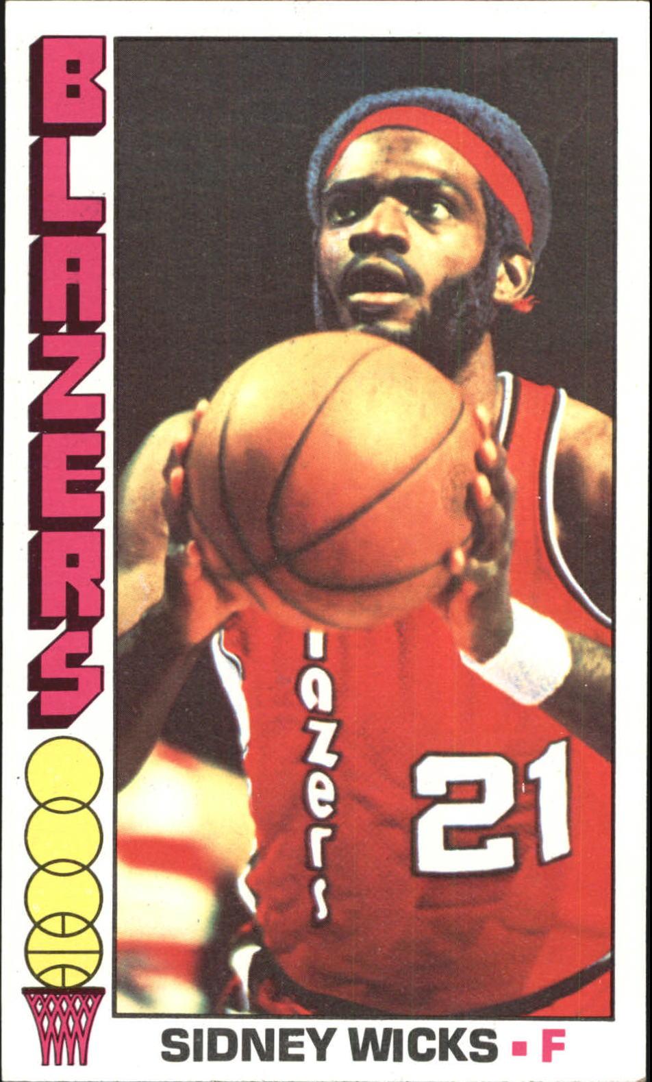 1976-77 Topps #31 Sidney Wicks
