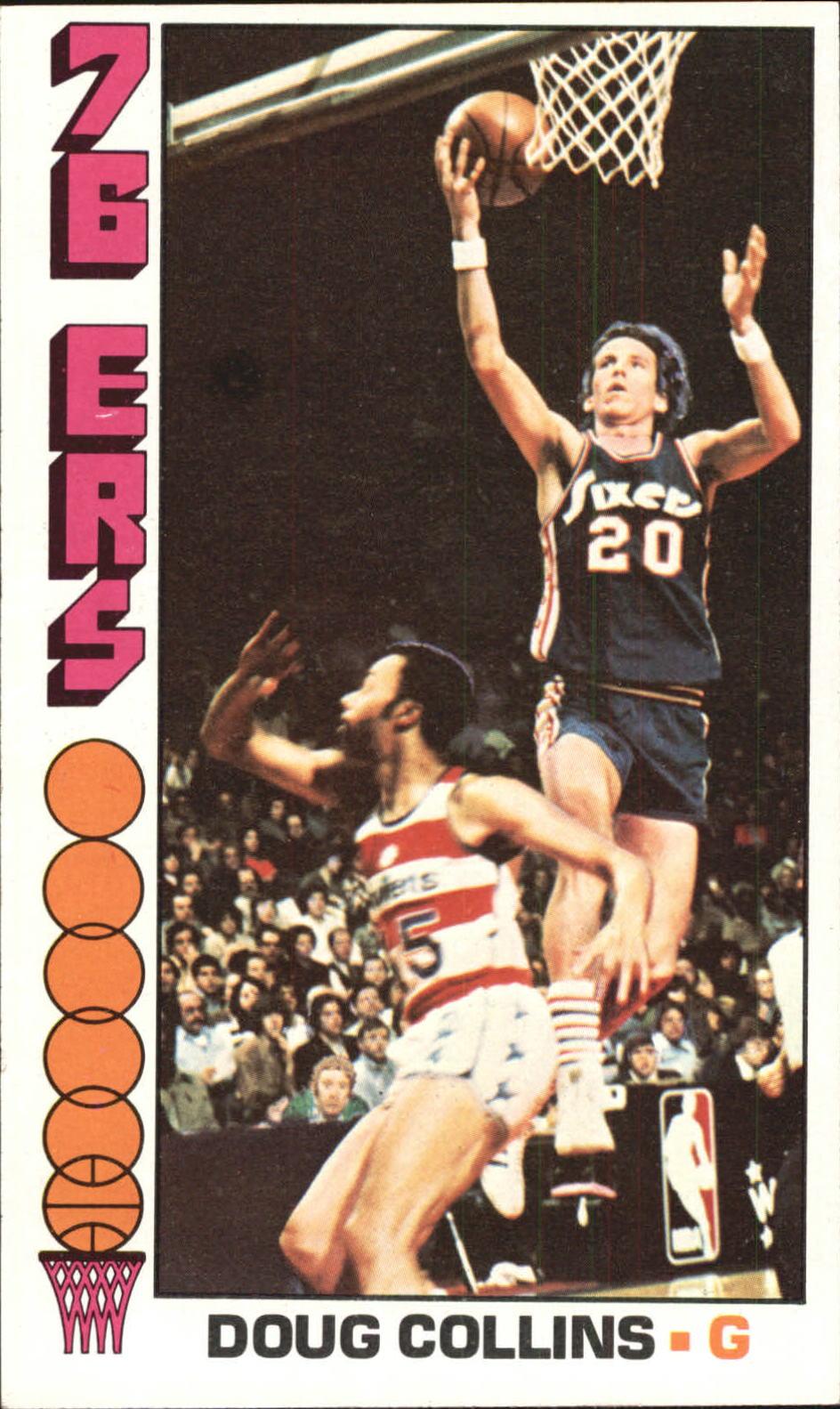 1976-77 Topps #38 Doug Collins