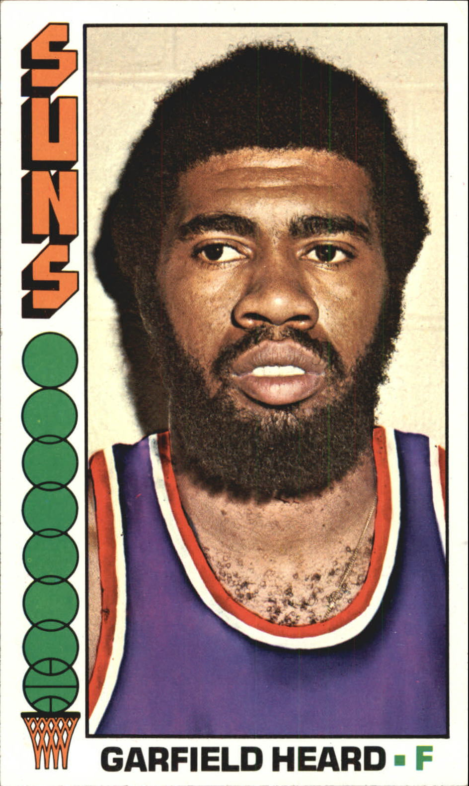 1976-77 Topps #39 Garfield Heard