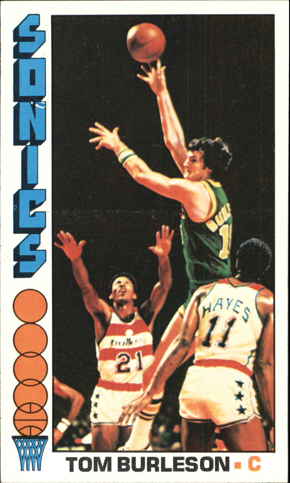 1976-77 Topps #41 Tom Burleson
