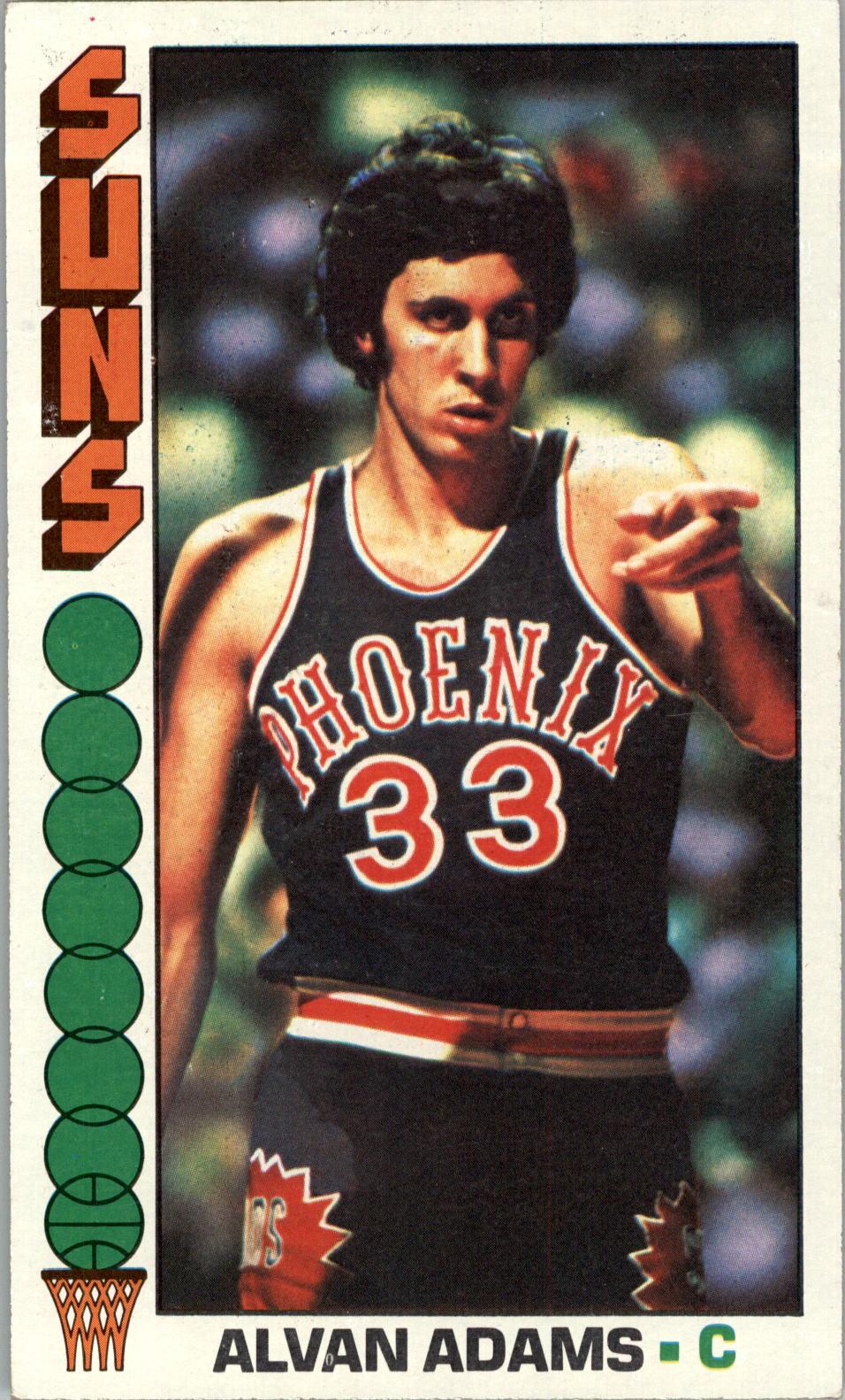 1976-77 Topps #75 Alvan Adams RC