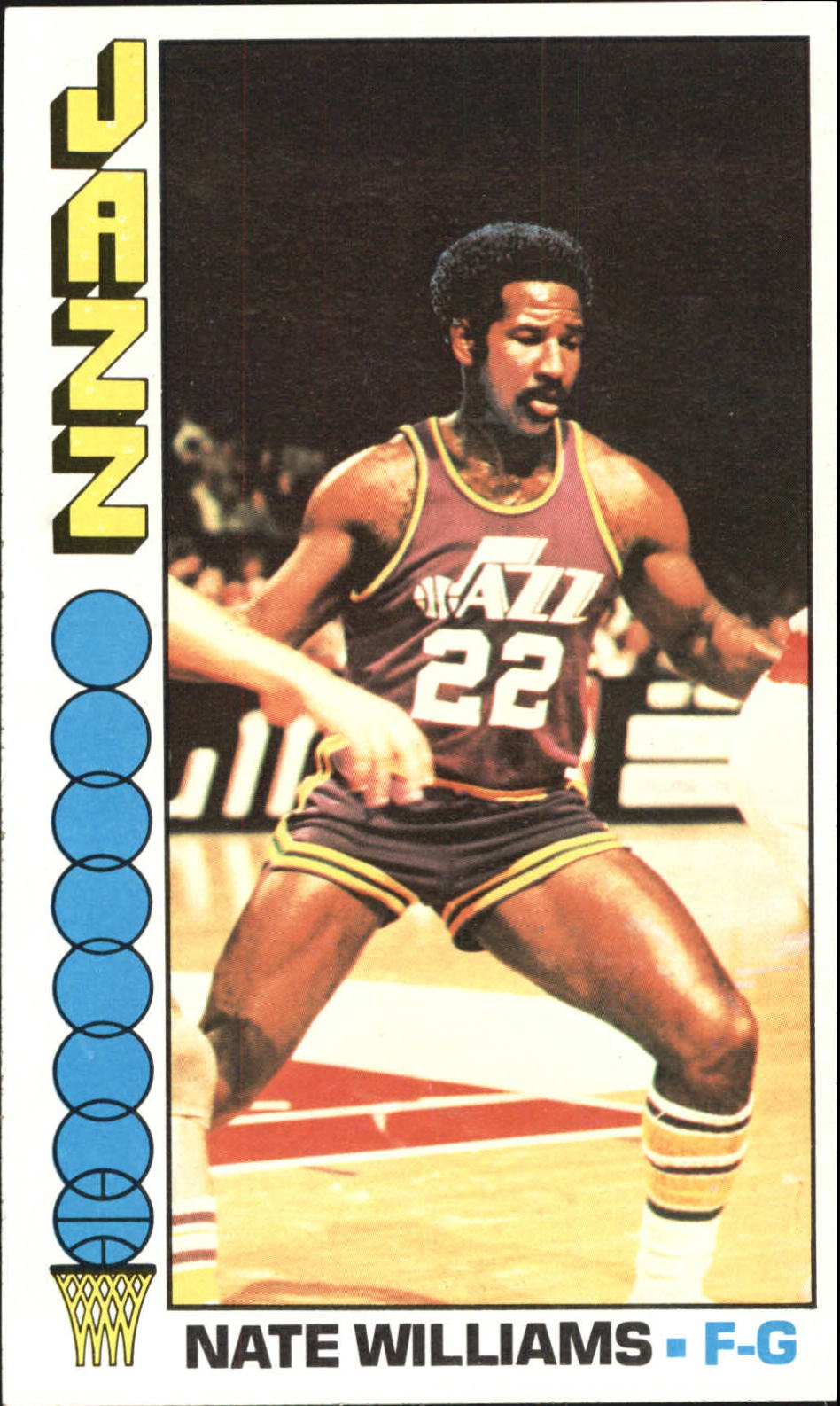 1976-77 Topps #88 Nate Williams