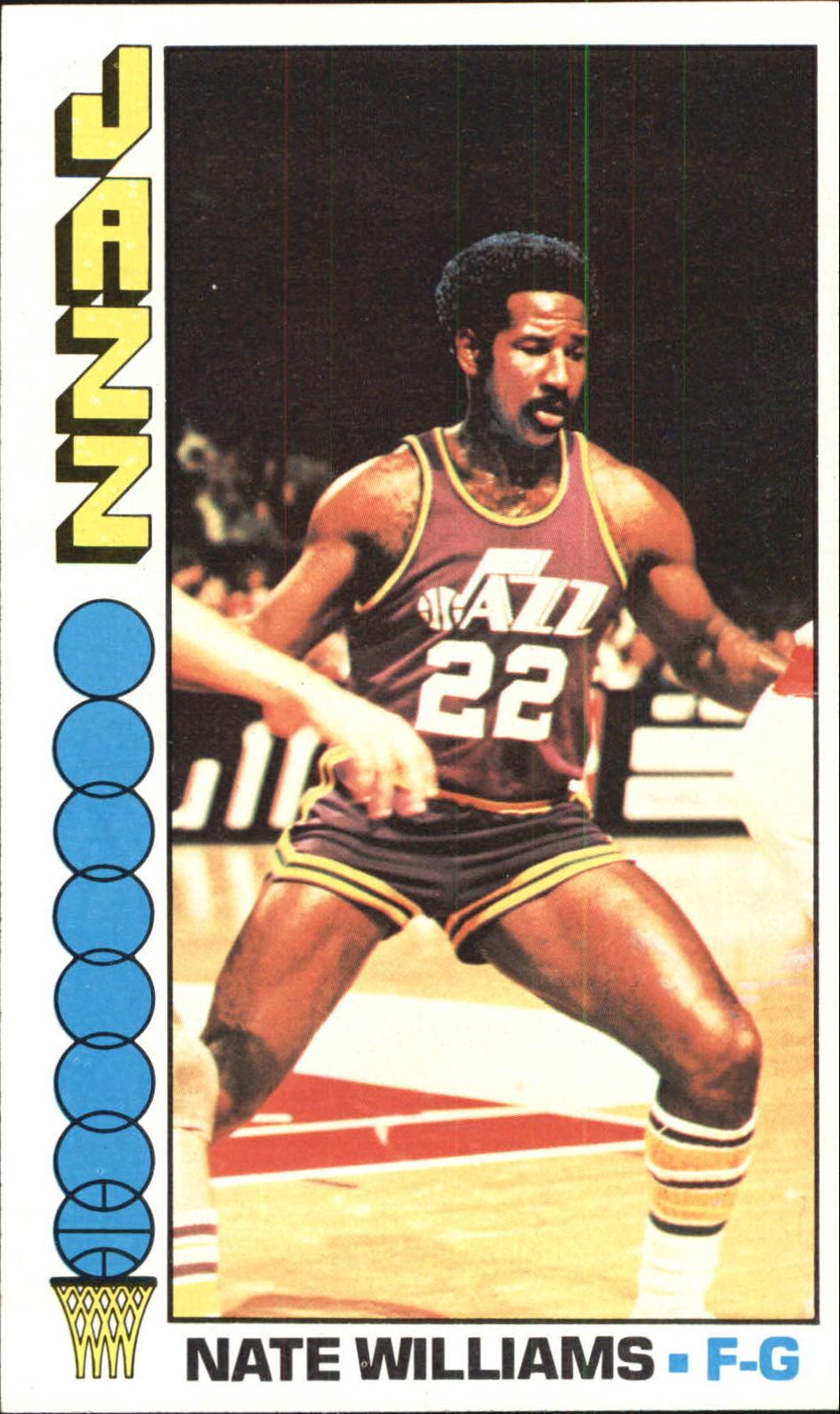 1976-77 Topps #88 Nate Williams