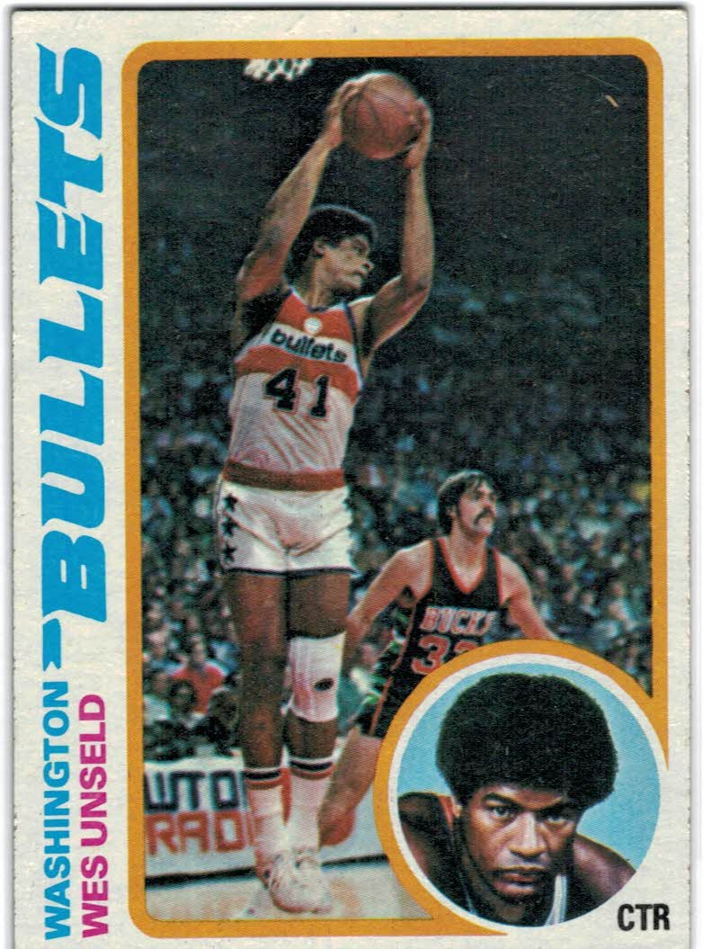 1978-79 Topps #7 Wes Unseld