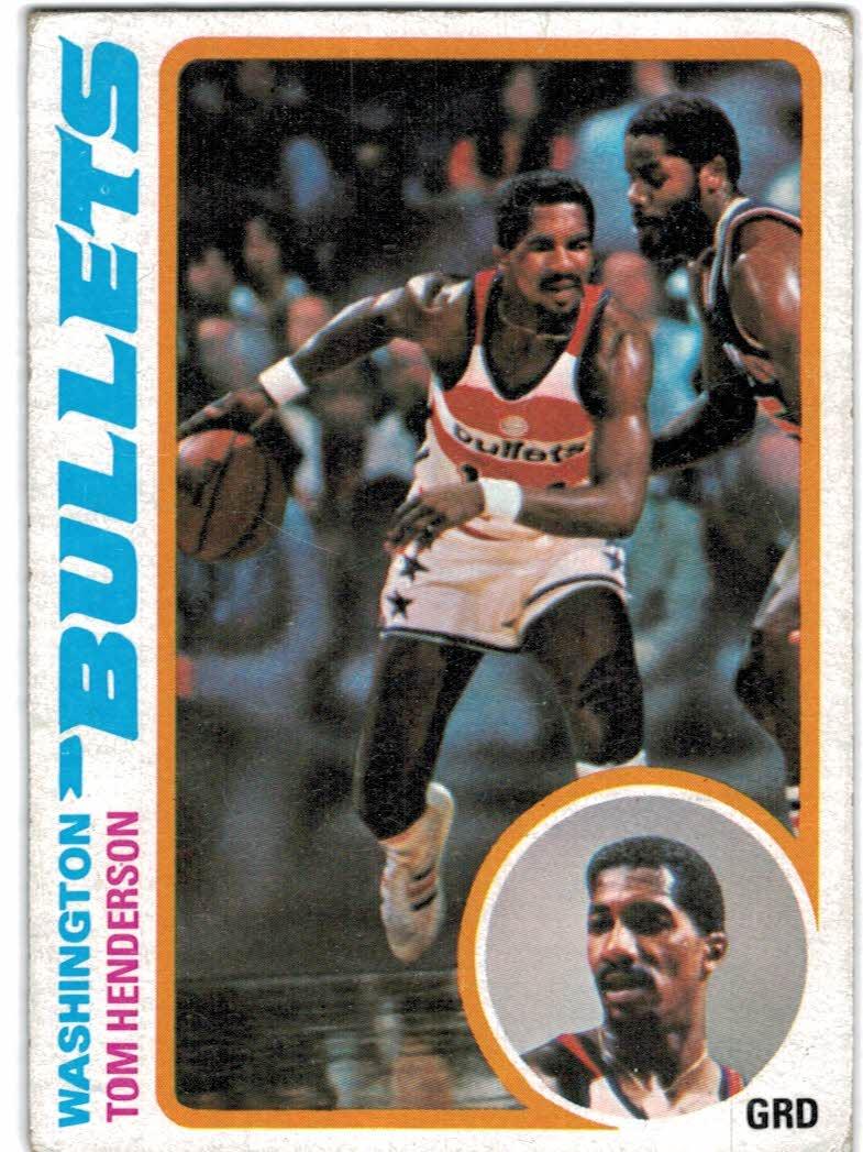1978-79 Topps #68 Tom Henderson