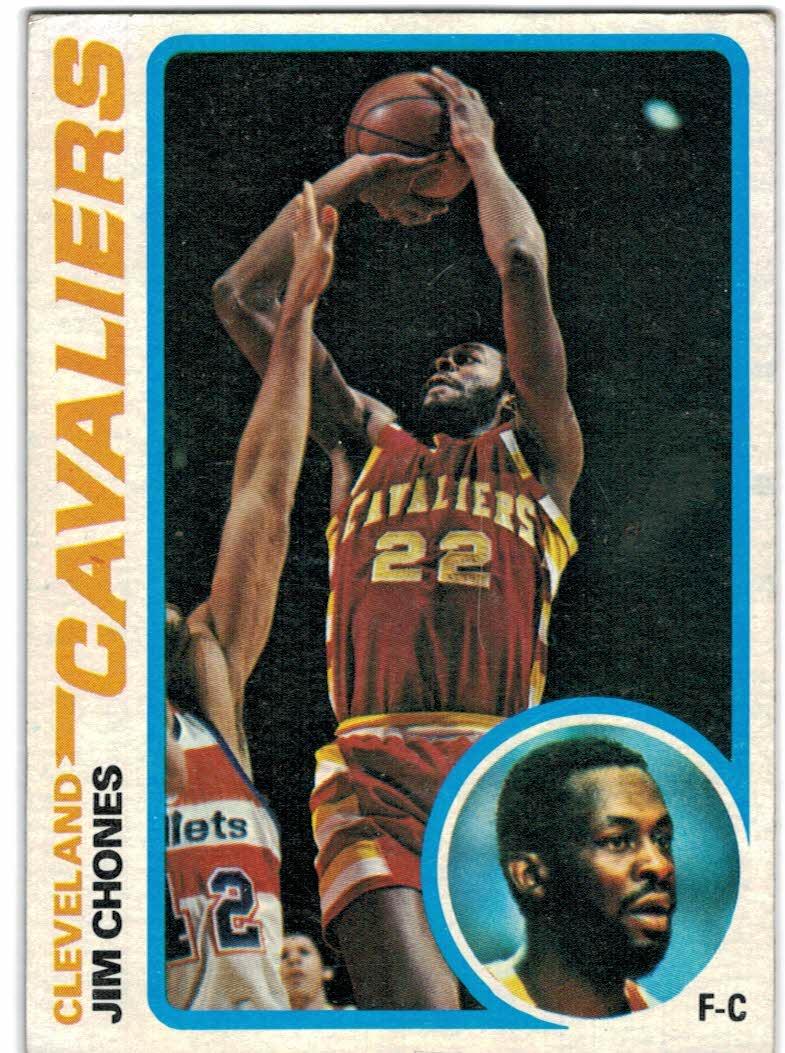 1978-79 Topps #105 Jim Chones