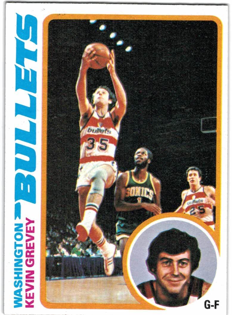 1978-79 Topps #113 Kevin Grevey