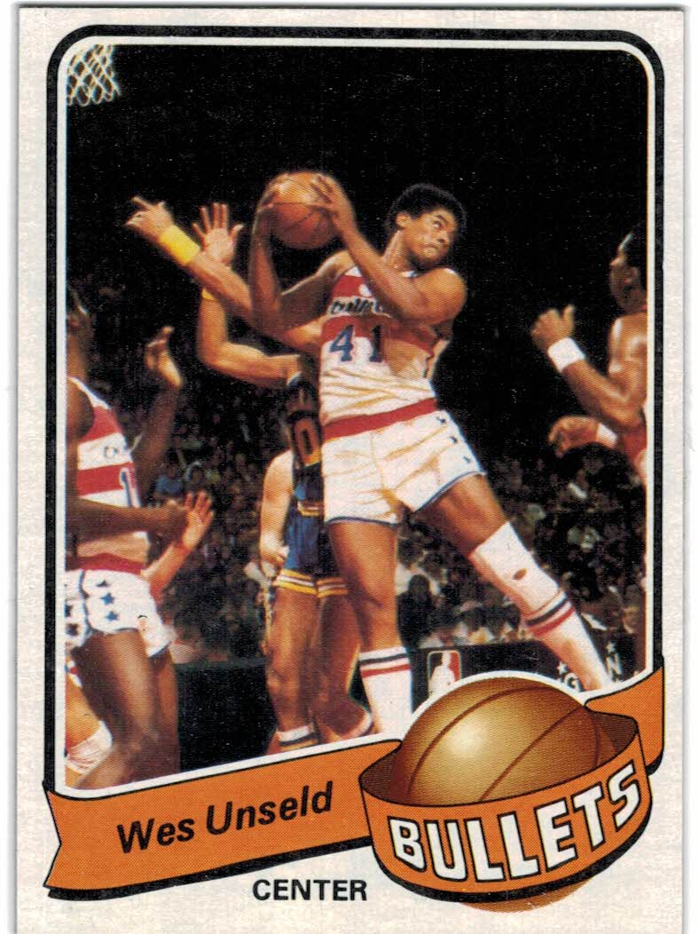 1979-80 Topps #65 Wes Unseld