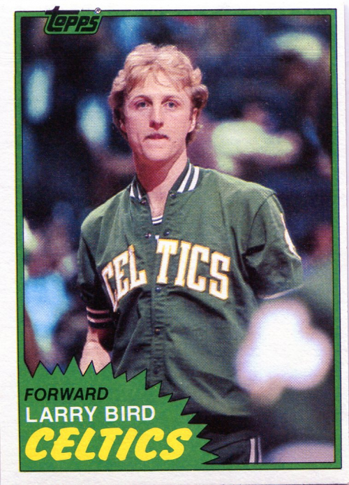 1981-82 Topps #4 Larry Bird !