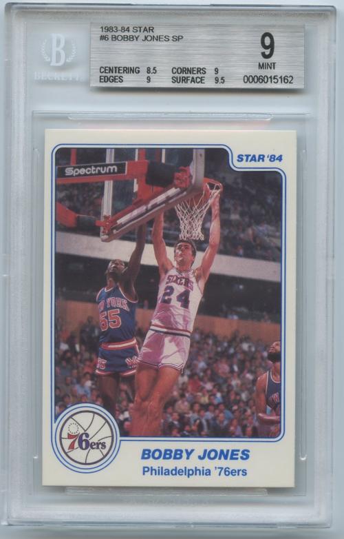 1983-84 Star #6 Bobby Jones SP