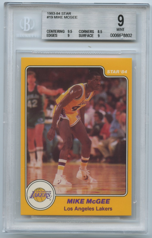 1983-84 Star #19 Mike McGee SP