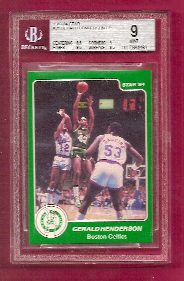 1983-84 Star #31 Gerald Henderson SP