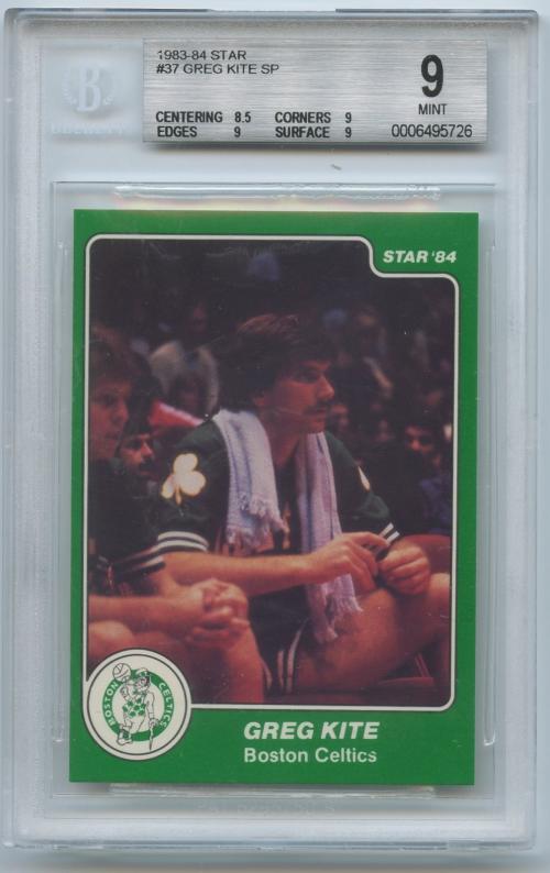 1983-84 Star #37 Greg Kite SP XRC