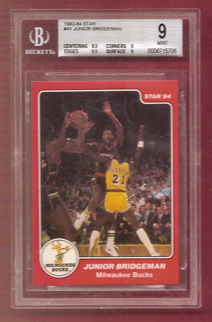 1983-84 Star #41 Junior Bridgeman SP