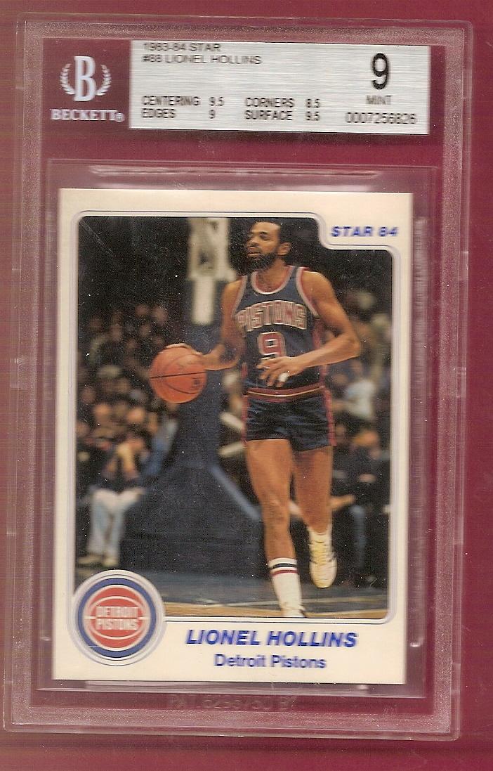 1983-84 Star #88 Lionel Hollins
