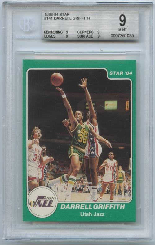 1983-84 Star #141 Darrell Griffith