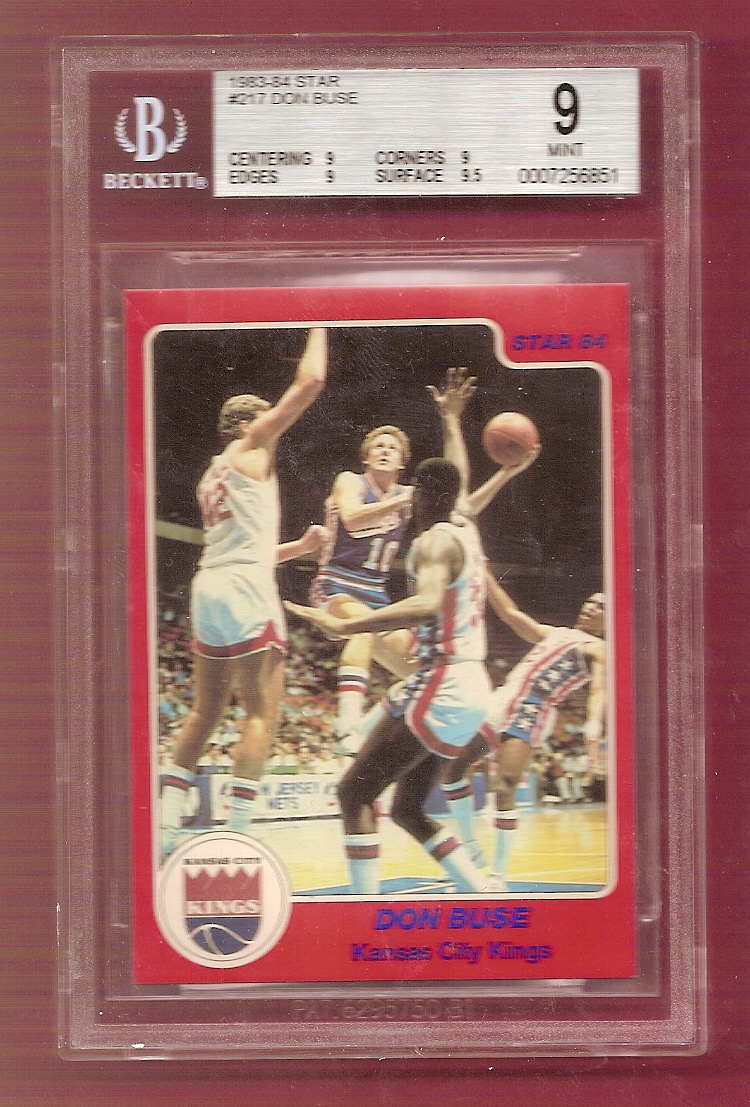 1983-84 Star #217 Don Buse