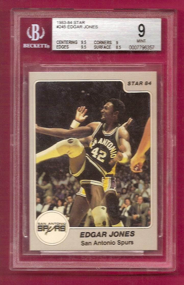 1983-84 Star #245 Edgar Jones