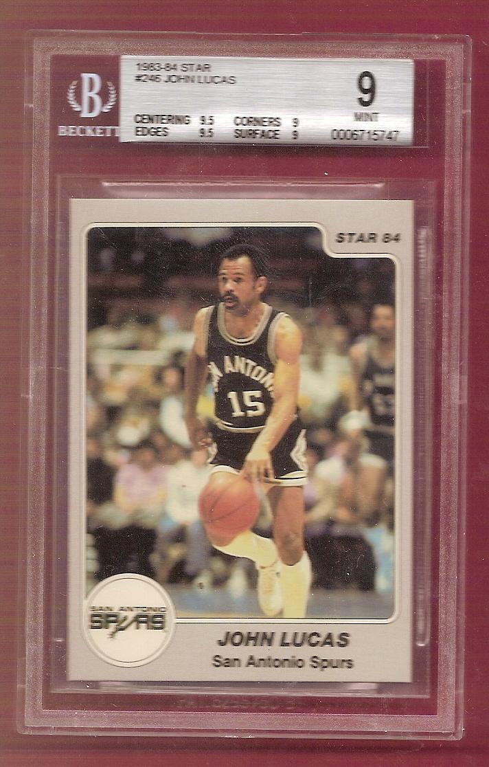 1983-84 Star #246 John Lucas