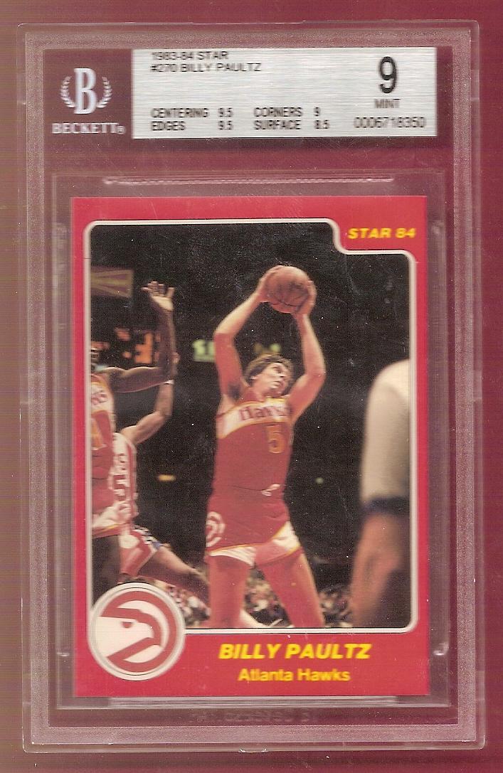 1983-84 Star #270 Billy Paultz