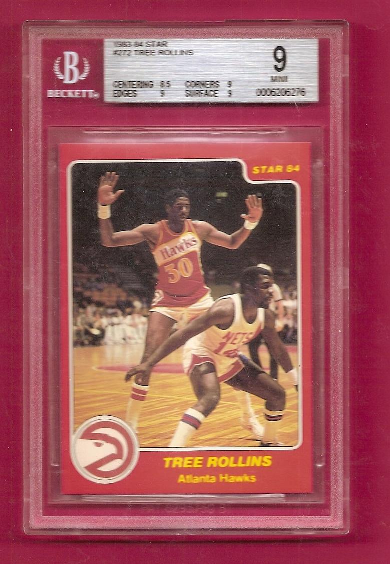 1983-84 Star #272 Tree Rollins