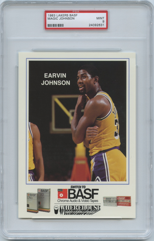 1983-84 Lakers BASF #4 Magic Johnson