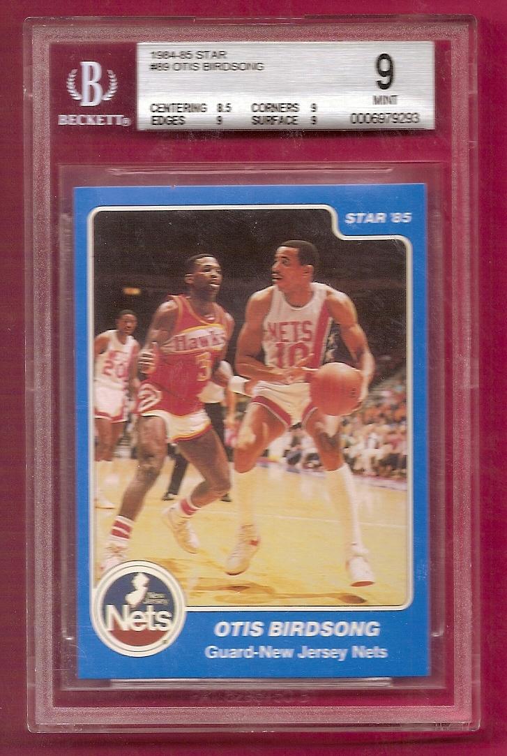 1984-85 Star #89 Otis Birdsong