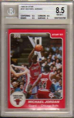 1984-85 Star #101 Michael Jordan XRC