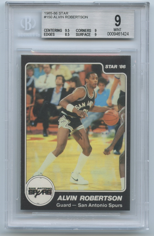 1985-86 Star #150 Alvin Robertson