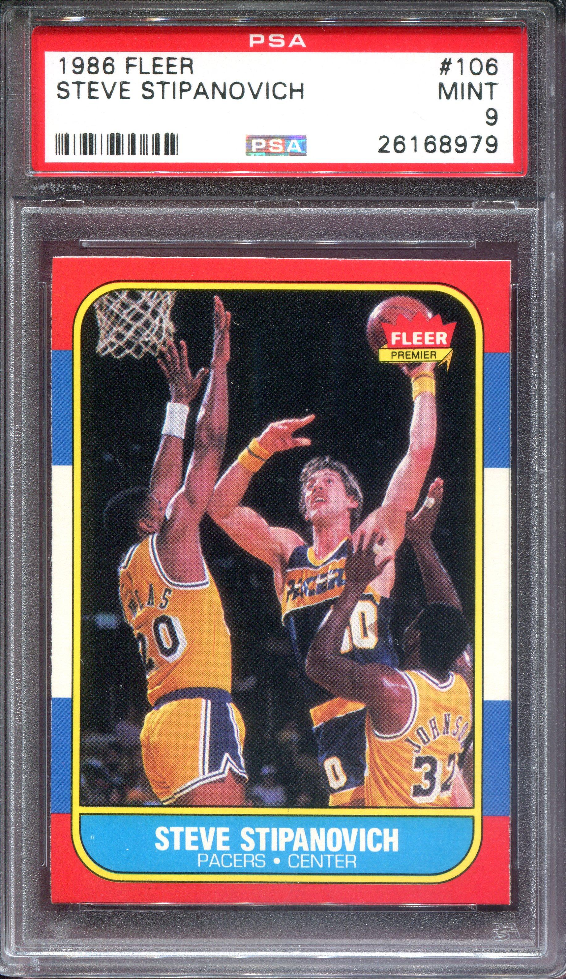 1986-87 Fleer #106 Steve Stipanovich