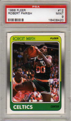 1988-89 Fleer #12 Robert Parish