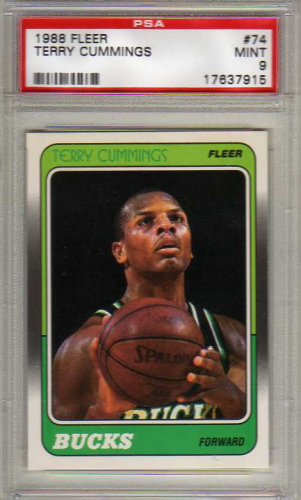 1988-89 Fleer #74 Terry Cummings