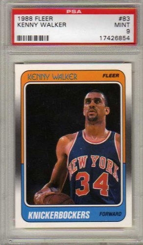 1988-89 Fleer #83 Kenny Walker RC