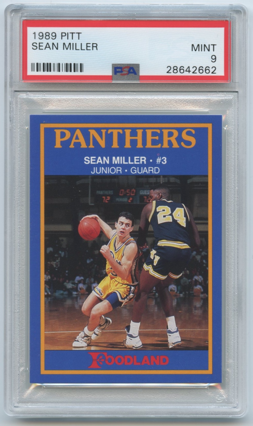 1989-90 Pittsburgh #7 Sean Miller