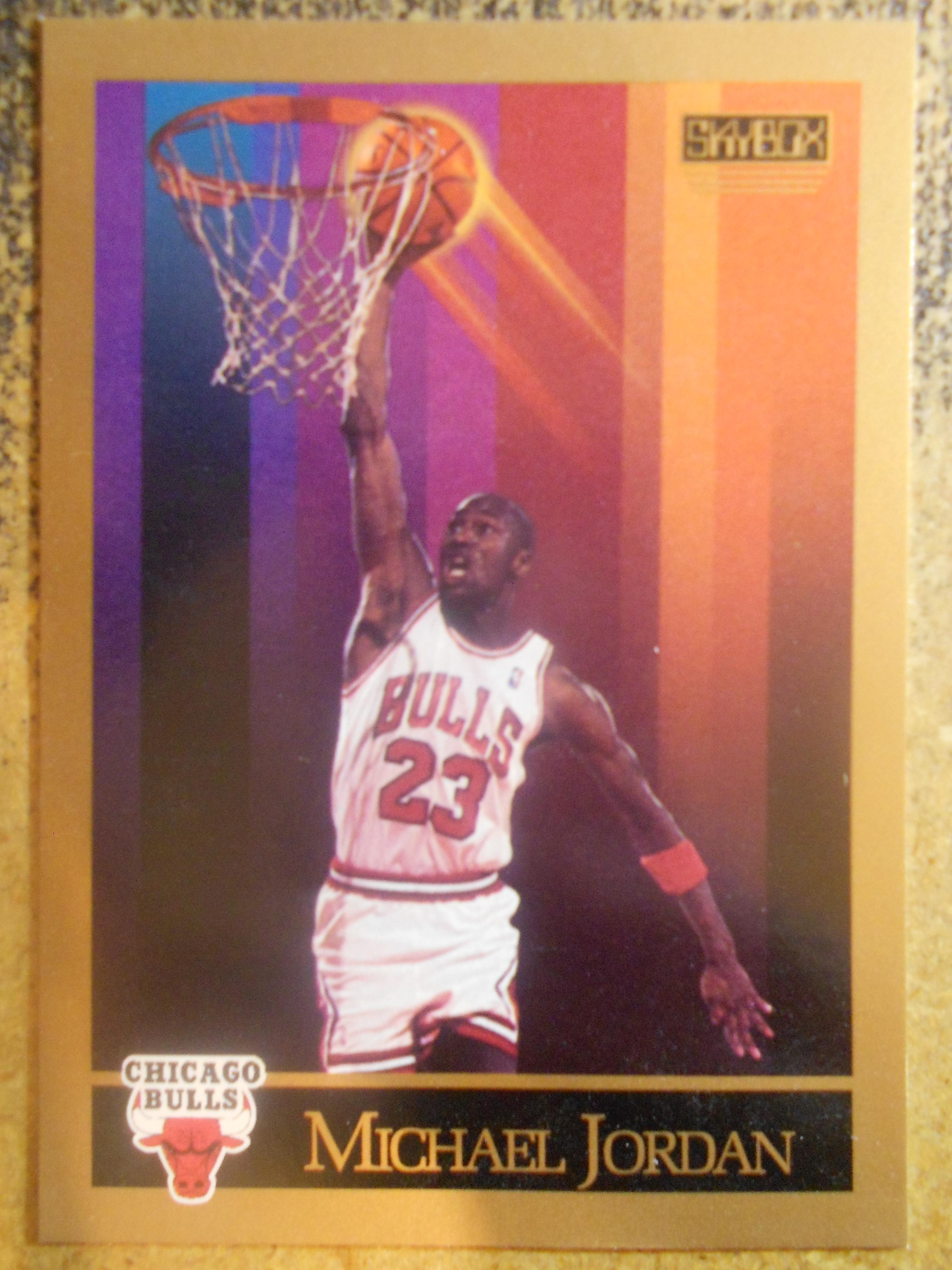 Air Jordan 1990-91 Cartes De Basket-ball Skybox réduction 2015 iZhzAxXg5