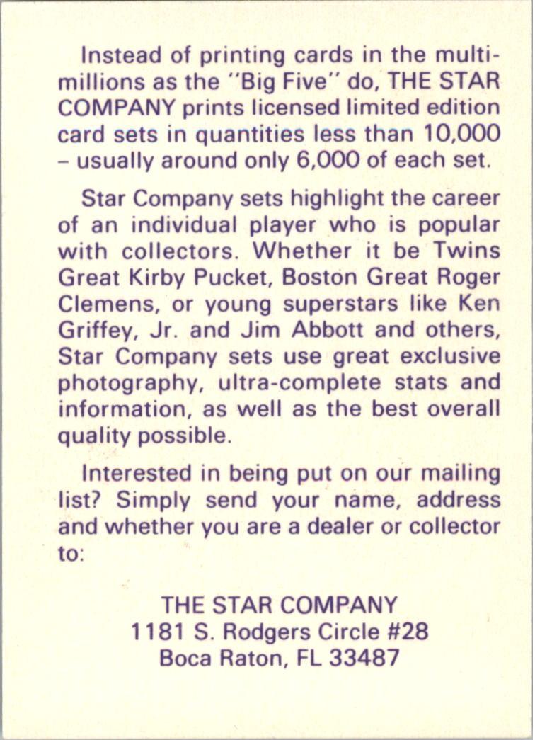 1990-91 Star Promos #18 James Worthy back image