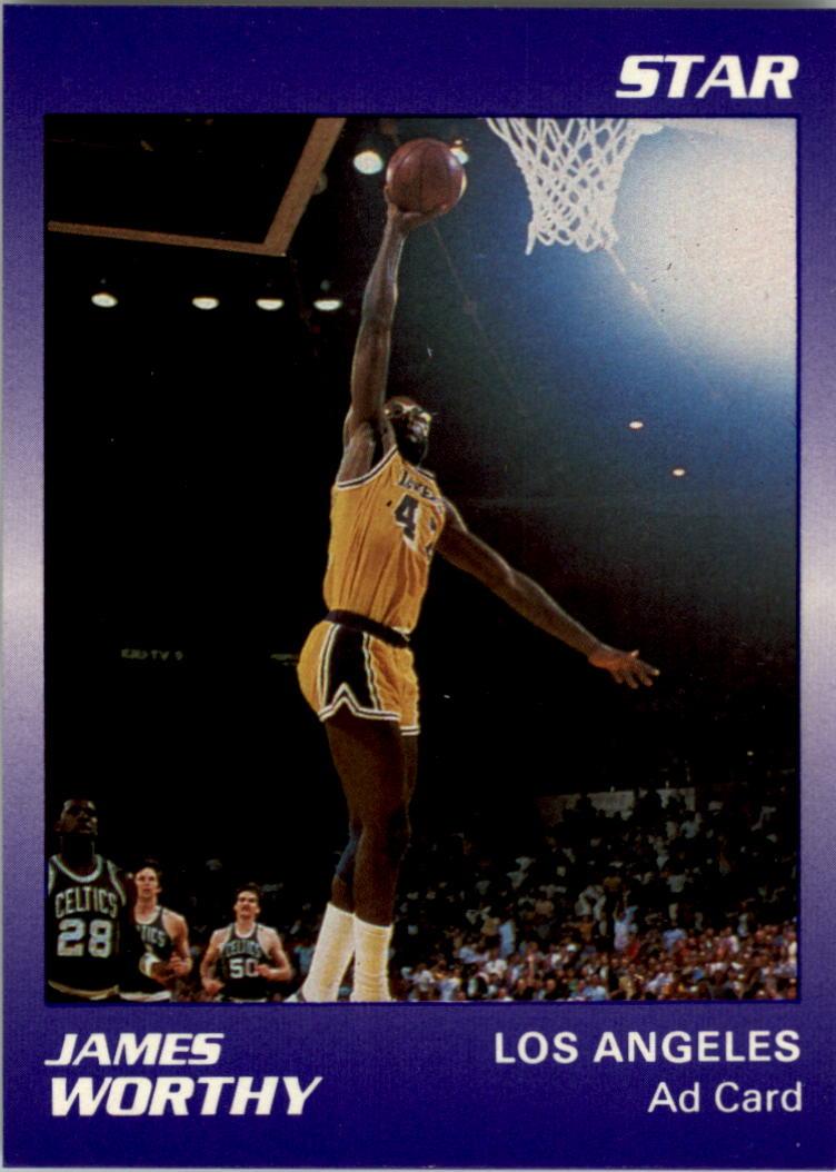 1990-91 Star Promos #18 James Worthy