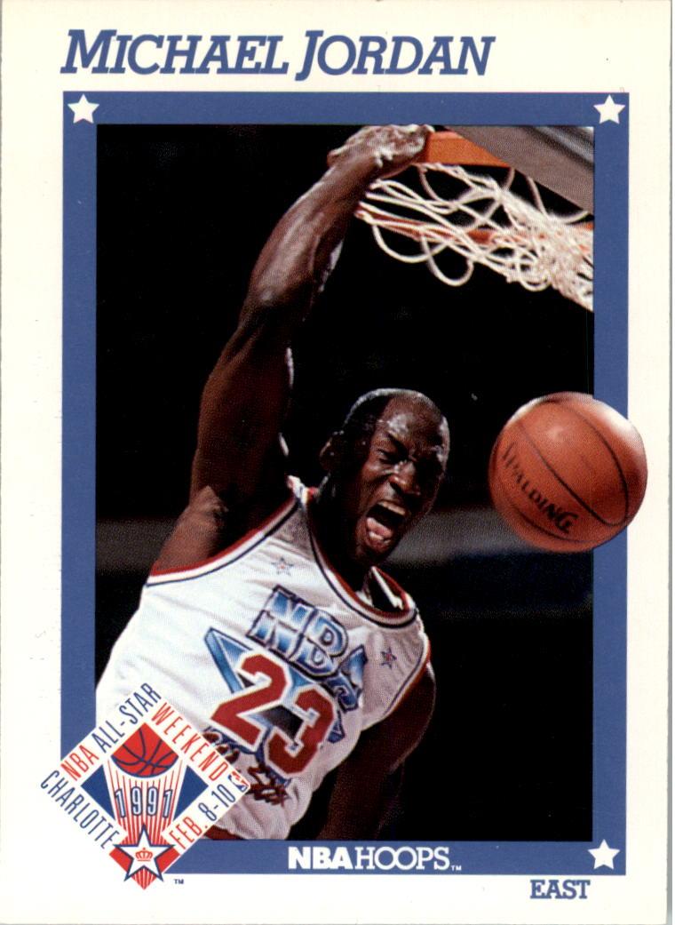 1991-92 Hoops #253 Michael Jordan AS
