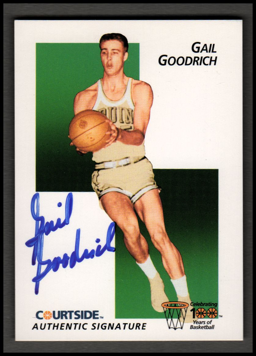 1992 Courtside Flashback Autographs #13 Gail Goodrich
